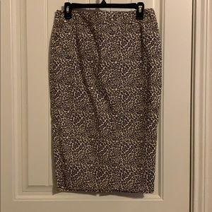NEW! Liz Claiborne Animal Print Pencil Skirt!